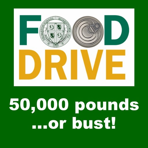 Food Drive Update: 43,670 Pounds, Monday Drop Off Added