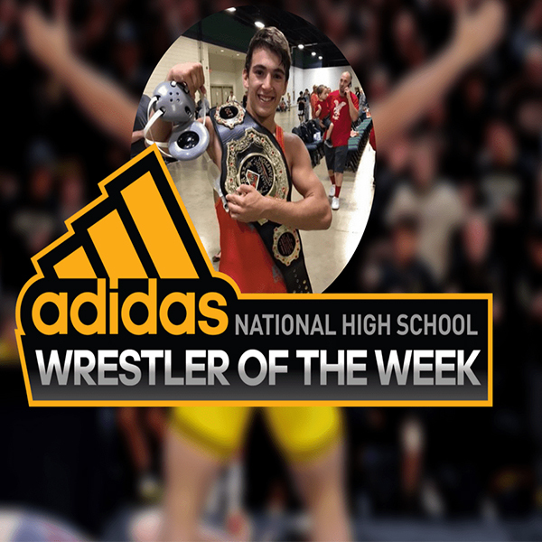 Pat Glory '18 Named National HS Wrestler of the Week