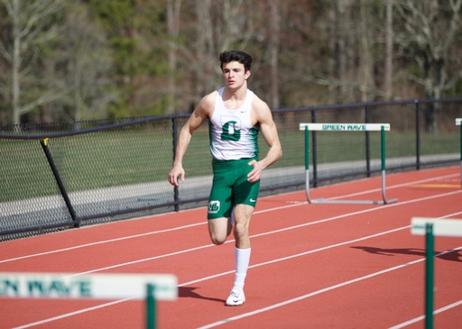 Green Wave Track and Field Off To Running Start
