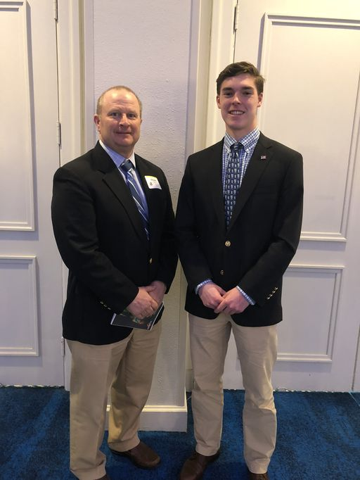 Harrison Cooley '18 Nominated for Sam Mills Award