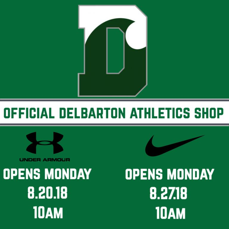 Official Delbarton Athletics Store Coming Monday