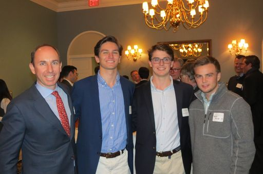 Alumni Meet at Boston Reception
