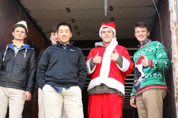 From Boys to Santas: Gift Drive 2018