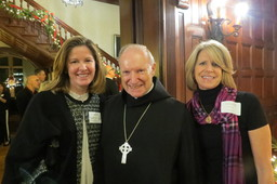 Parents Enjoy Christmas Receptions in Old Main
