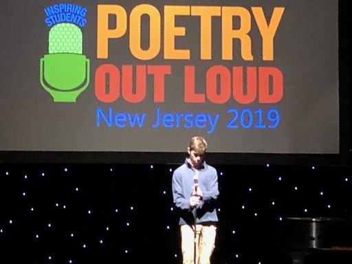 Derek Lattmann '19 Takes First in Poetry Out Loud Contest