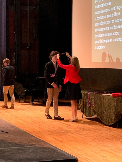 Sixty Students Inducted Into Language Honor Societies
