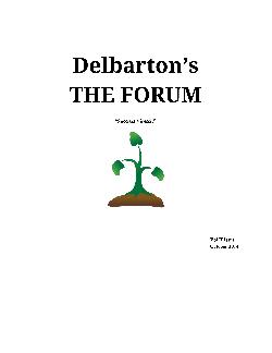 Delbarton Forum: Issue 5